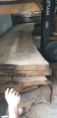 Jedyne Suche monolity dębowe na blaty drewniane stoły live edge wood
