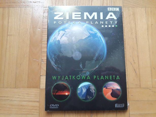 ZIEMIA Potęga Planety : Wyjątkowa Planeta DVD BBC NOWA FOLIA