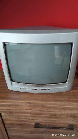 Sprzedam telewizor kineskopowy Thomson 14 cali z pilotem.