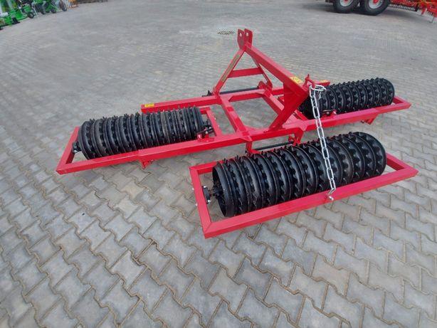 Wały Agro -Factory TRIO bardzo ładne, solidne wykonanie 3,0 m / 45 cm