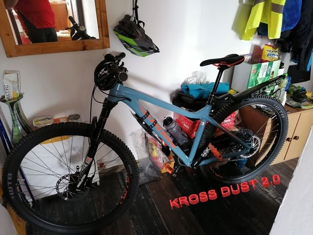 Skradziono rower KROSS Dust 2.0 29'' niebiesko-pomarań. NAGRODA !!!
