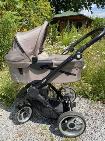 Wózek Mutsy Evo 2w1 + fotelik Maxi Cosi + dodatki