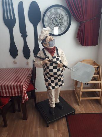 Boneco Cozinheiro Pizzaolo