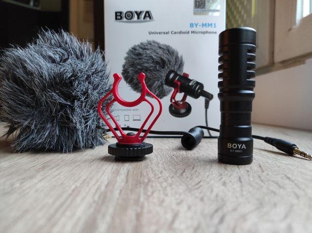 Mikrofon Pojemnościowy Kardioidalny Boya BY-MM1