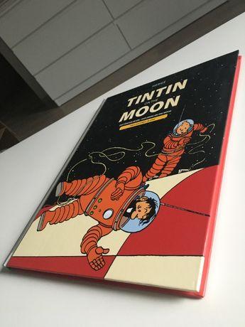 Tintin on the Moon Destination and Explorers 2w1 HC