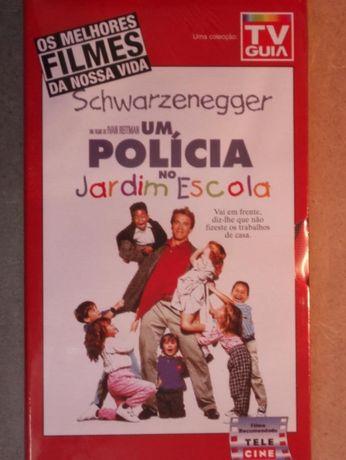 Filme VHS, Um Policia no Jardim Escola - a estrear