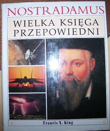 Nostradamus Wielka Księga Przepowiedni F. X. King Świat Książki