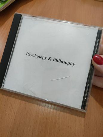 Психология - диск с лекциями, книгами,научными материалами+чистый диск