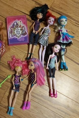 Lalki Monster High, Draculaura, Frankie Stein i inne