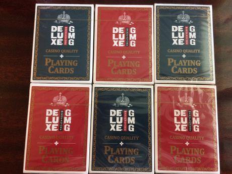 Карти игральние аналог Bicycle качество казино Deluxe gmg для покера