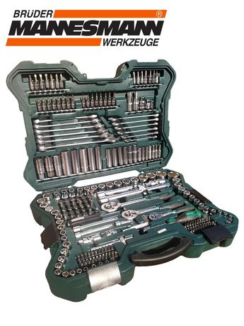 Mannesmann 215 предметов набор инструмента інструмент ключі инструмент