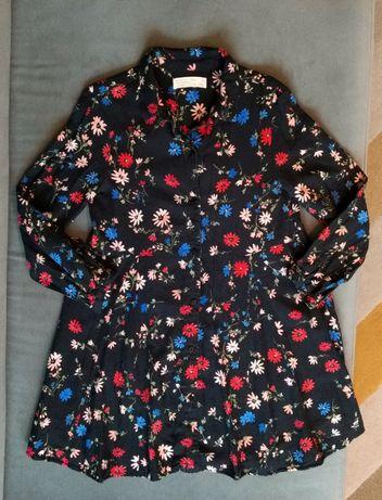 Sukienka ZARA Girls w kwiaty Rozmiar 134