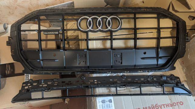 Решетка радиатора Audi Q8 решетка нижняя бампера заглушка противотумнк