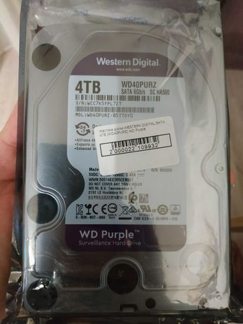Жёсткий диск для видеонаблюдения hdd 4 tb