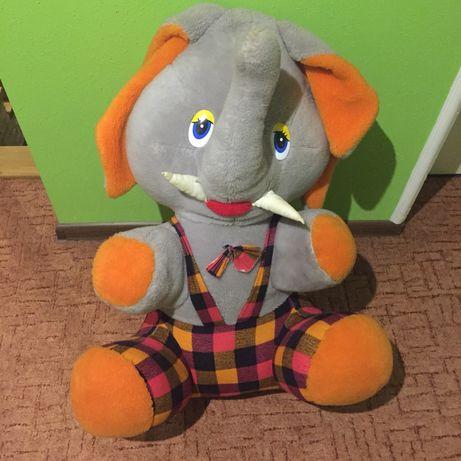 Duży miś maskotka misiek słoń pluszowy pluszak 80 cm