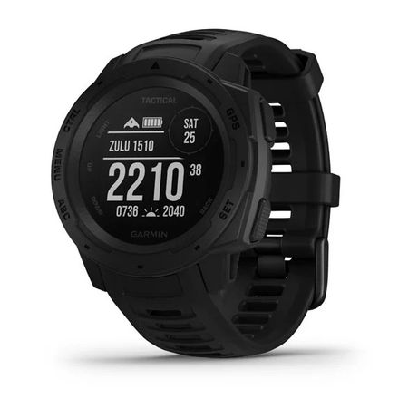 Nowość Zegarek Garmin Instinct™ – Tactical Edition czarny/jasnobrązowy