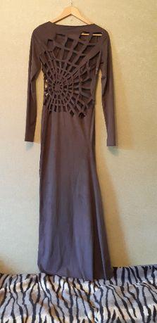 Платье с паутиной
