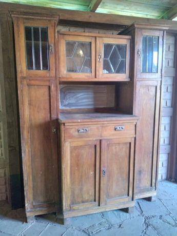 Кухонный сервант из дуба 50-х годов (под реставрацию)