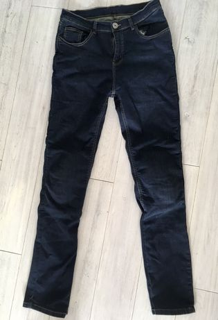 Spodnie motocyklowe damskie jeansy