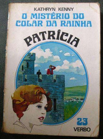 5 Livros Juvenis Vintage Coleção Patricia - Kathryn Kenny / Julie Cam