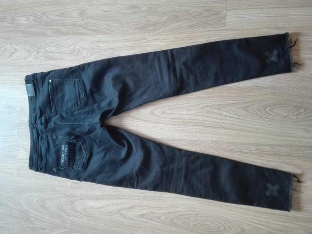 Modne jeansy Reserved 40