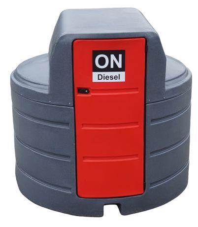 Zbiornik dwupłaszczowy na paliwo rope olej napędowy - 2500L