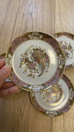 4 Chávenas e Pires de Porcelana - Made in Italy