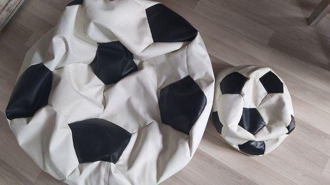 pufa piłka nożna rozmiar maxi+ mała ecoskóra