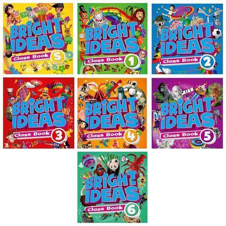 Друк книг Bright Ideas (starter, 1,2,3,4,5,6)
