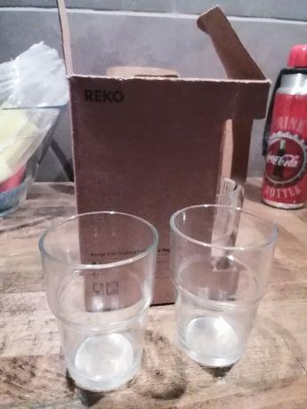 Zestaw szklanek Ikea Reko, 6 sztuk nowe