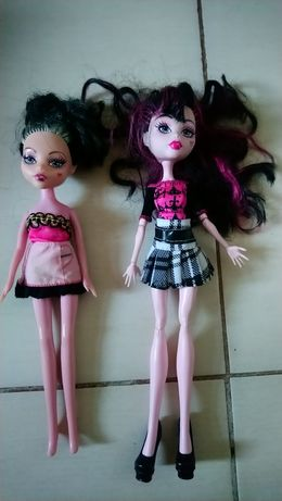 Dwie lalki Monster High