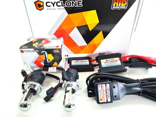 Би-ксенон комплект Cyclon лампы H4 дальний-ближний. Гарантия год