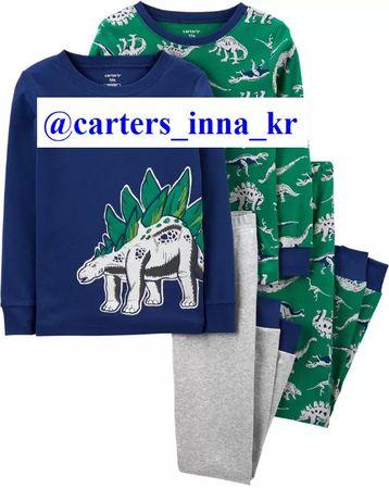 В наличии 4,5т,6,7,8,10 размер хлопок пижамы carters , піжами ,картерс