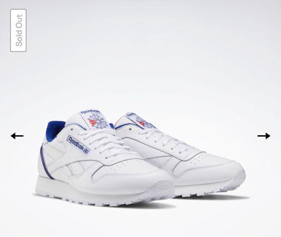 Оригинал! Кроссовки Reebok Classic Leather Shoes FW7782 (42.5 размер)