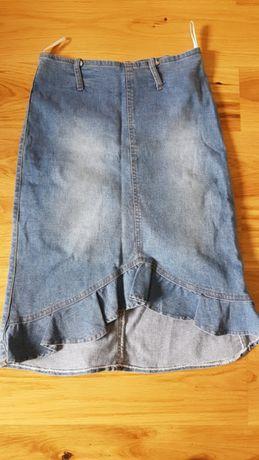 Spódnica jeansowa 36/ S