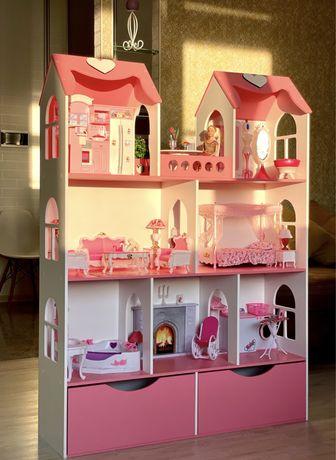 Кукольный домик/домик для кукол/домик для барби/ляльковий будинок