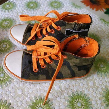 Кеды/кроссовки на мальчика камуфляжные