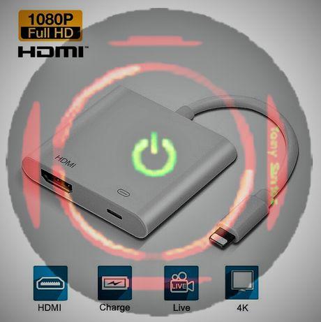 LIGHTNING para HDMI 1080P ADAPTADOR iPhone 5 6 6S 7 7PLUS 8 11 12