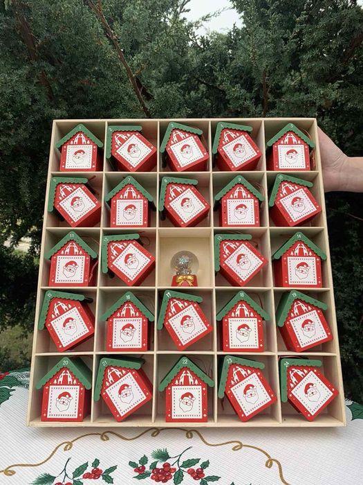 Новогодний календарь домики с сюрпризом на елку Харьков - изображение 1