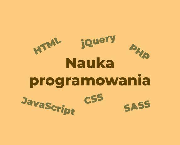 Nauka programowania HTML, CSS, JS, PHP