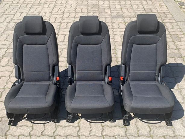 Fotele FORD GALAXY mk3 S-MAX Fotel Tył Lewy Prawy Środkowy Tylny rząd