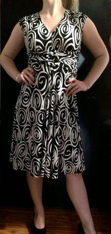 Стильное платье миди Viyella