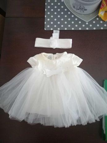 Sukienka r.56-62 ecru
