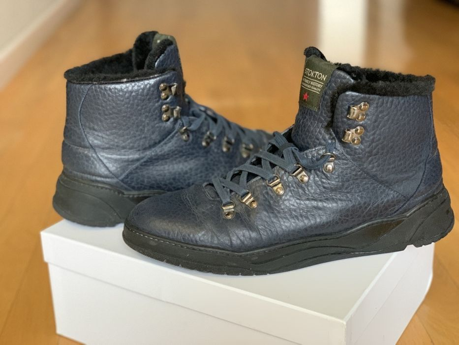 Ботинки мех зима Stokton 44 Инженерный - изображение 1