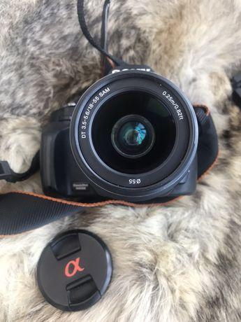 Sony a230 зеркальний фотоапарат зеркалка