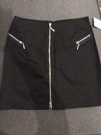 Nowa spódniczka mini zamki rozpinana xs