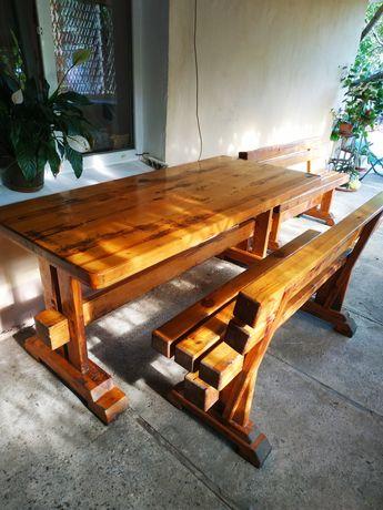 Садовая мебель ( стол+ лавки )