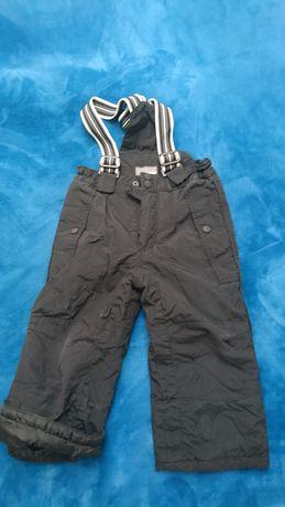 Spodnie narciarskie ,ocieplane H&M rozm 98 cm