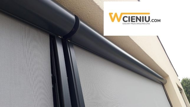 Refleksol / roleta zewnętrzna przeciwsłoneczna na okna i do pergoli