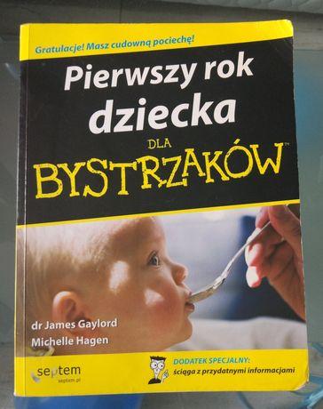 Książka pierwszy rok dziecka dla bystrzaków